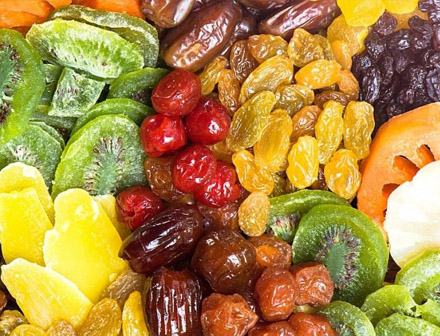 Сушка овощей, фруктов, конфет
