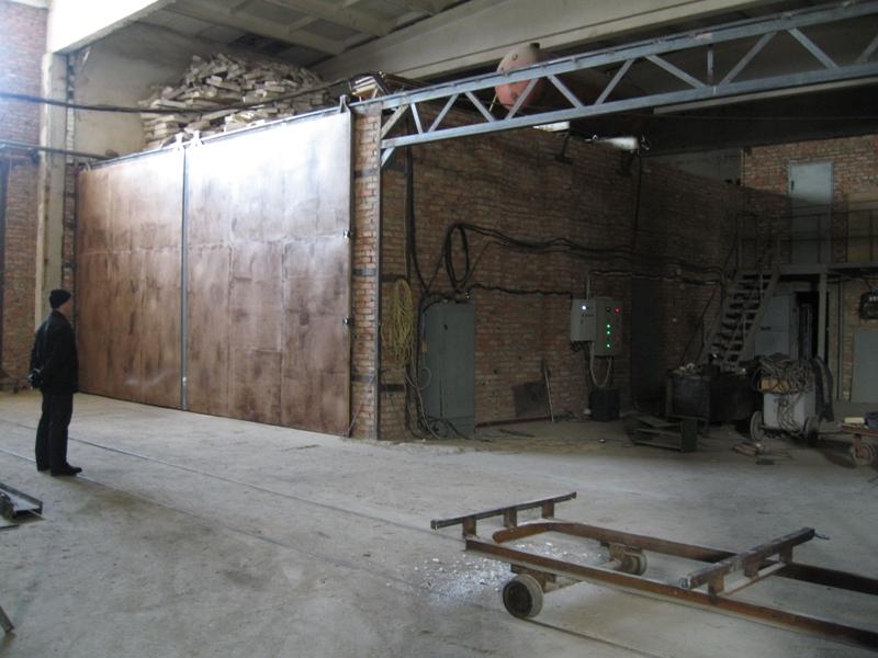 Камера 60-кубов Юрга (организация сушильной камеры для древесины)