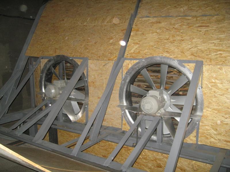Юрга вен-ры камера 60 кубов (организация сушильной камеры для древесины)